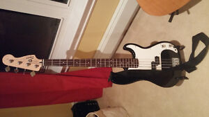 Bass guitar and amp used lightly $150 obo