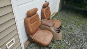 2 ford king ranch leather seats