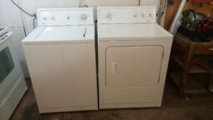 Kenmore top load washer and matching dryer