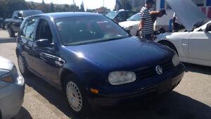 2002 Volkswagen Golf GL Hatchback