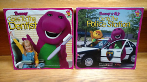 2 Barney children's picture books
