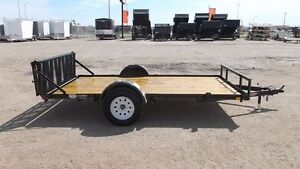 2015 HH Trailers 5.5X12 HEAVY FRAME FLATBED