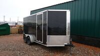 "2016 Look 7x14 Element Enclosed Trailer 6""extra Height"