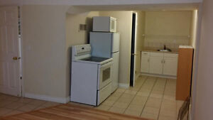 Near Marlborough mall. walk to C train, basement bachelor suite