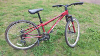 Norco Mountainer, boy Bike disk brakes, front suspension