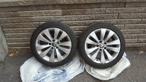 Bridgestone Winter Tires&Rims 235/45/17 West Island Greater Montréal image 2