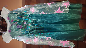 Disney Store Elsa Spring Fever Dress 7-8