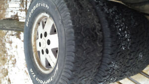 Chevy Aluminum Rims and Tires