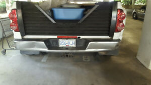 Dodge Ram complete chrome step bumper 02-08 - $150 (Ladner)