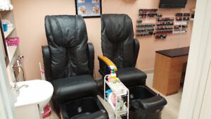 Aesthetician room in salon (manicure, pedicure, waxing) for rent