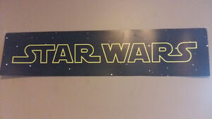 Brand New Classic Star Wars Vinyl Poster 1.25m x 0.30m Poster
