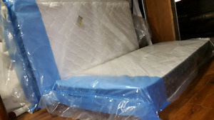 Brand New single mattresses 130$ and 165$ ones.  Free delivery i