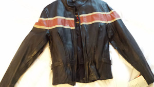 Leather motorcycle jackets - 1 women's 2 mens