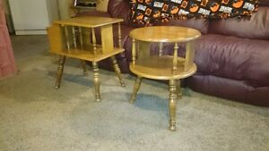 Different End Tables
