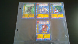 4 Cartes Digimon