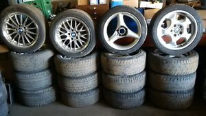 BMW rim & tire packages