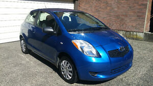 2008 Toyota Yaris CE Hatchback     LOW KMS!!