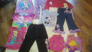 Disney Girls Clothes Frozen,Princess Mickey Mini Baby Kids