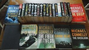24 Michael  Connelly  books