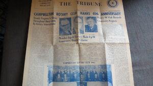 Campbellton Rotary Club newspaper, 1965