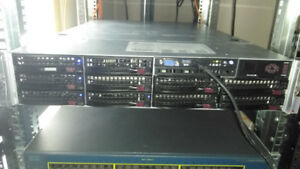 2U Supermicro Server 2x E5-2690 V2 10 Core 128GB 8TB SAS