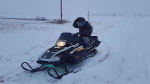 Powder special parts sled