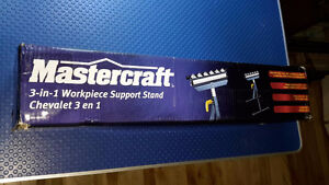 ~~MasterCraft ~~3 in 1 Support Workstand With Roller Balls