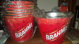 Brahma Beer buckets. NEW