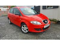 SEAT ALTEA REFERENCE TDI, Red, Manual, Diesel, 2009