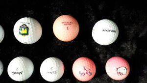 Christmas Special on Name Brand Golf Balls (gently used)