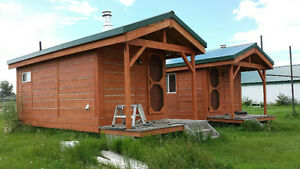 Rustic Cedar Cabins Only 1 Left!