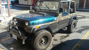 1995 Jeep Wrangler YJ