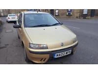 Fiat Punto 1.2 ELX 3 DOOR - 2002 02-REG - 5 MONTHS MOT
