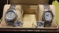 Two August Steiner Ladies Watches. BRAND NEW!!!! $80 for both.