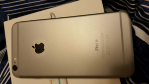 Apple iPhone 6 Plus 64GB space grey lock with Telus