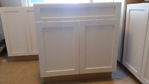 New Unfinished cabinets