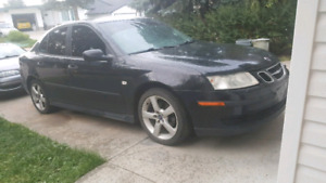 Turbo saab 93! 300hp stage 3!  Looking at all trades!!!