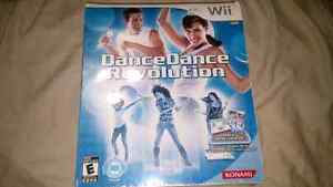 New sealed wii game and mat
