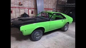 Wanted   68-69-70 AMC AMX Parts or for restoration