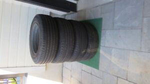 summer tires p205-70R15 with rims