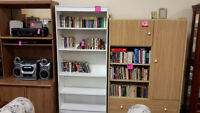 White Bookcase - Used