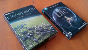 BBC Planet Earth & Life DVD sets