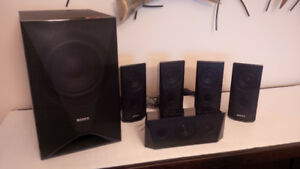 Sony 5.1 Home theater speakers