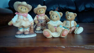 Cherished Teddies - Cowboys and Indians