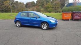 2005 05 plate Peugeot 307 1.6 16v ( a/c ) S