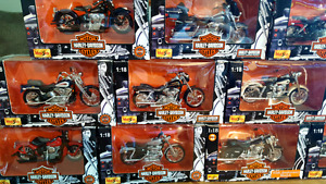 HARLEY DAVIDSON MOTOR CYCLES 1:18 DIECAST