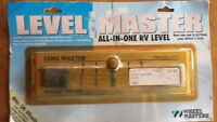 FITH WHEEL LEVEL-NEW-STILL IN PACKAGE-LEVELMASTER