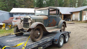 1929 ford model A project
