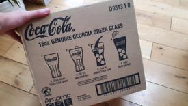 24x Coca-Cola original glasses in box NEW
