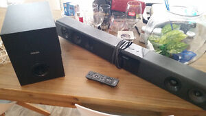 Philips Virtual Surround Soundbar with Wireless Subwoofer